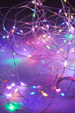 クリスマス・パーティの結婚式のための110のLEDs 36FT Dimmableの星の星明かりの銅線妖精ストリングライト