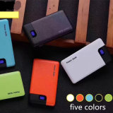 Matériau ABS PU Texture Mini Portable Travel Power Bank pour iPhone Dispositifs Android