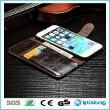 Het Geval van de Tik van de Portefeuille van het Leer van de luxe voor iPhone 6 7 van de Appel plus