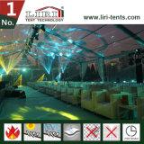 Gemischtes vollständiges transparentes Zelt-Festzelt für im Freienereignisse