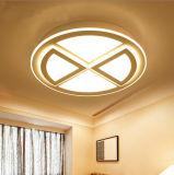 Sehr spät zeitgenössische runde Decken-Lampen-Beleuchtung-Lichter des Acryl-LED für Wohnzimmer/Schlafzimmer/Küche in 3 Größen