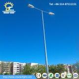 poste galvanisé de rue d'IMMERSION chaude de 6-12m pour l'éclairage extérieur