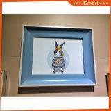 Les gosses de vente chauds aiment la peinture mignonne de toile d'art de mur d'animaux