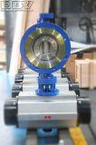 Válvula de borboleta pneumática industrial de Dbv