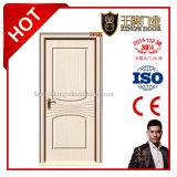 Portes en bois bon marché de PVC d'intérieur pour la construction