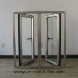 Het Openslaand raam van het aluminium met Dubbel Glas As2047 en As2208