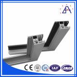 Profil d'extrusion de châssis de fenêtre en aluminium du brillant ISO9001