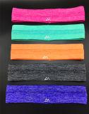 Les bandeaux en sueur de sports courants sans joint antidérapage de yoga sur l'action personnalisent le meilleur cadeau de promotion de logo