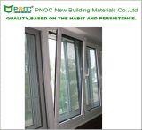 Inclinación 2017 de la doble vidriera de Pnoc y vuelta de aluminio Windows