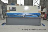 QC12k Serie hydraulische vordere führende CNC-Schwingen-scherende Maschine