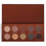 Vende al por mayor la gama de colores desnuda del sombreador de ojos del tipo de 10 de los colores FAVORABLES gamas de colores cosméticas del maquillaje