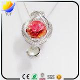 実際に2017創造的な宝石類の自然な不滅の花の花のネックレスの宝石類
