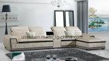 Sofà moderno dell'angolo del cuoio del salone (HX-F609)