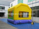 Aufblasbarer gelber springender Haus-Prahler
