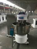 Mélangeur amovible de spirale de cuvette de matériel de cuisine pour la machine de nourriture