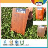 El efecto de madera modificado para requisitos particulares / el revestimiento de madera del polvo del grano se aplicó por el proceso de transferencia de calor
