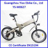 이중 36V 10.4ah Panasonic 건전지를 가진 현탁액에 의하여 자동화되는 자전거