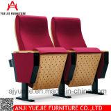 Silla plegable de madera comercial Yj1204 del auditorio del metal