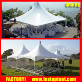 Sechseckiges Berggipfel-Facetten-Zelt für 50 100 Seater Hochzeits-Eignung-Partei-Ereignis
