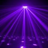 Lumière d'effet de Lorenz de la haute énergie RGBW DEL Derby pour la disco