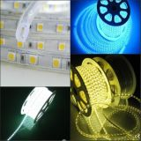 Fábrica flexible impermeable de la luz de tira LED RGB con Ce