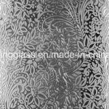 8mm 사려깊은 장식적인 장식무늬가 든 유리 제품 /Shower 유리제 문 또는 창 유리