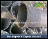 ステンレス鋼のこし器、304本のワイヤーによって編まれる金網のトレーナー