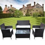 Modernes Stuhl PET Rattan-Garten-Patio-Möbel-Sofa-Set der Freizeit-2017