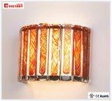 Luz moderna popular de la pared de la venta LED de la victoria con el vidrio para la sala de estar