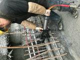 Hydraulisch den bedienten Rebar aussondern, der die Maschine verbiegt und geraderichtet, die im Gleis, Brücken, Stahlverstärkung, niedriges Ment verwendet wird und Schutzkappen aufbauen