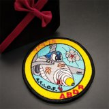 Значки заплаты Doraemon вышивки