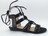 PU上部TPR Outsoleの女性服靴