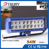 Punto de las piezas de automóvil LED del CREE 54W que conduce la lámpara del camino LED Lightbar