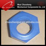 Noix Hex galvanisée de l'acier du carbone Grade8 DIN934