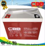 batteria solare del gel di 12V 80ah per il sistema fotovoltaico solare