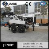 Буровая установка воды Jt200y установленная трейлером