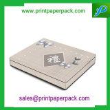 Zoll gedruckter Papierpappschmucksache-Schmucksache-Geschenk-verpackenkasten für Verpackungs-Halsketten-Kasten