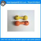Kundenspezifische Farbe gebildet 12*3.5cm weiches Gummigummireifen-Haustier-Spielzeug für Hund