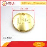 Os Tag da etiqueta do metal da alta qualidade personalizam o Dirigir-Preço da fábrica da etiqueta do metal da etiqueta do logotipo