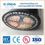 Câble d'alimentation blindé d'isolation de XLPE