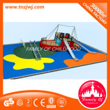 Parc d'attractions Plastic Slide Children Outdoor Playground Set