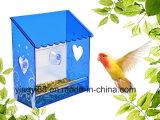 Alimentatore acrilico dell'uccello della finestra di Yyb con i fori di scolo