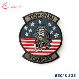 Custom Logo Embroidery Patch Badge com velcro