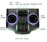 LEDライトが付いているFeiyang携帯用Bluetooth DJのスピーカーE242