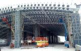 Облегченное стальное здание с лучем способа сота