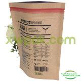 Bolsa de papel del 1/2 libra Kraft para el empaquetado del polvo de la nutrición