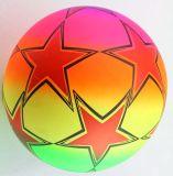 OEM多彩なPVCフットボールまたはおもちゃの球か膨脹可能な球