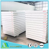 Farbe StahlRockwool/Glasswool/EPS Sandwichwand-Panel für Stahlkonstruktion