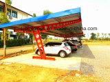 Estacionamento simples do carro de aço