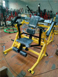 Abdominal Crunch, Fitness Gym Hammer Fuerza Equipo, Plate Cargado